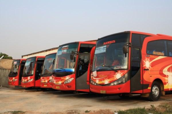 Armada Bus Pariwisata - William ⋆ Lena Wisata