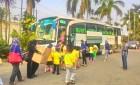 SD Al Iklas Cilandak wisata ke Mekarsari